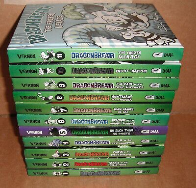 Dragonbreath Vol.1,2,3,4,5,6,7,8,9,10,11 by Ursula Vernon Hardcover