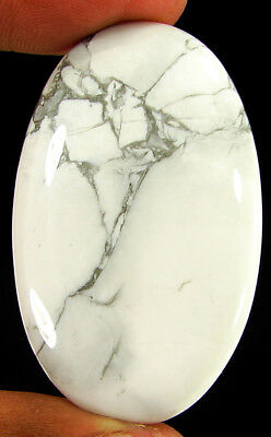 83.10 Ct Natural Howlite Loose Gemstone Beautiful Cabochon Stone - R6062