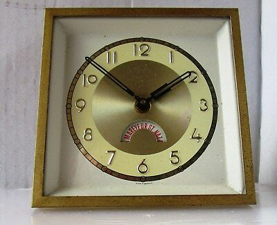 Lovely Old French Animated Advertising Clock from UNKNOWN MAKER