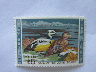 Federal Duck Stamp RW40 Mint / Unsigned / Unused  OG  Never Hinged