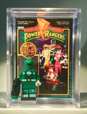 Pink Power Ranger Custom Mini Action Figure w Case /& Stand 281 Power Rangers