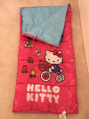 cee22115483 HELLO KITTY SLEEPING Bag Pink Youth Size Great Condition ! -  14.00 ...
