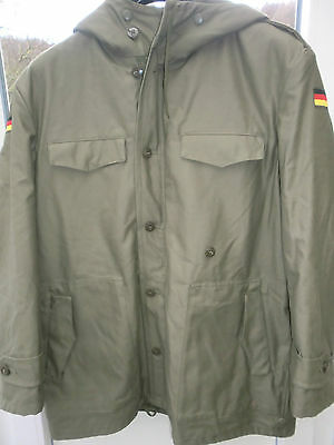 Genuine german army cold weather parka w.detachable fur  liner-LARGE /XL 3 NEW !
