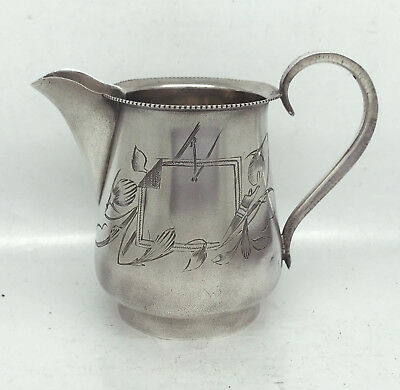 IMPERIAL RUSSIAN 84 SILVER CREAMER  1912 year