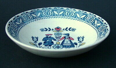 Johnson Brothers Hearts & Flowers Cereal or Dessert Size Bowls 15.5cm - in VGC