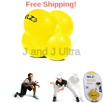 SKLZ Reaction Ball. Field Training Ball and Agility Trainer for Baseball and .
