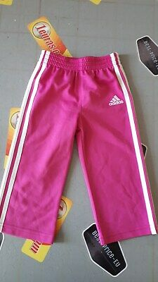 Adidas Girls Sport Pink Pants For 12 Month