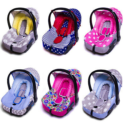 BABY CAR SEAT FULL COVER SET Fitting MAXI COSI CABRIOFIX REST HEAD BELT STRAPS