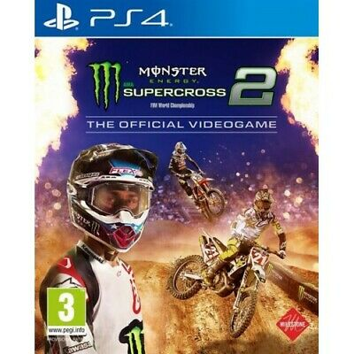 Videogames Ps4 Monster Energy Supercross 2 Koch Media 1031531 Italiano