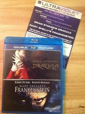 Bram Stroker's Dracula/Mary Shelley's Frankenstein (Blu Ray Double Feature)