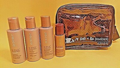 JOICO Reise Pflege Set K-Pack Reconstruct: Deep-Penetrating, Shampoo, Condition