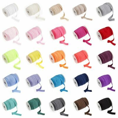 Fold Over Elastic 16mm wide - 27 Colours - Multibuy Savings & Free Postage