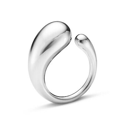 Georg Jensen. Sterling Silver Ring #634B, large - Mercy