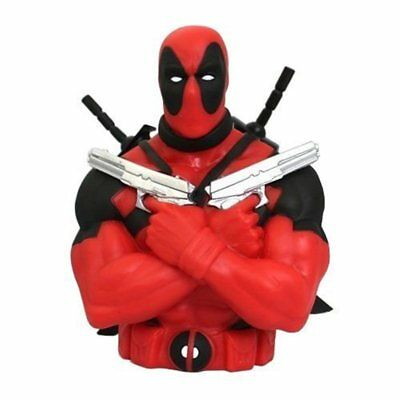 Money Box Bust Deadpool 22cm - Official Product Marvel