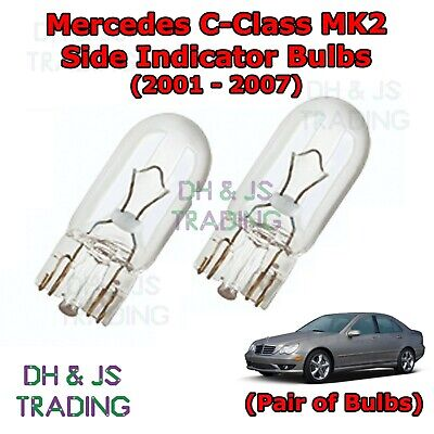 2x mercedes a-class W168 genuine osram ultra life front indicator light bulbs