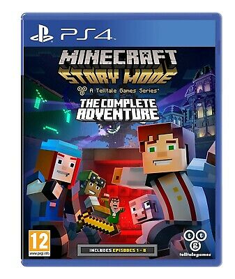 Juego Ps4 Minecraft: Story Mode The Complete Adventure Ps4 4419648