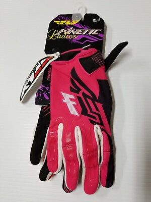 Alpinestars Youth Large MX ATV Gloves S7Y Tracker Petrol//Orange Racing Offroad