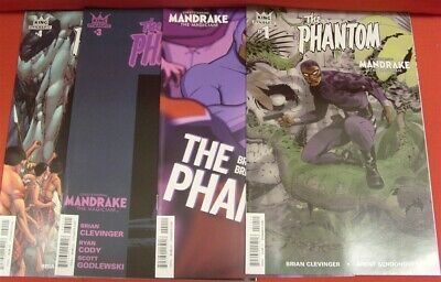 Phantom 1-4 King Dynamite Comic Set Complete Clevinger Schoonover Cooke 2015 Nm