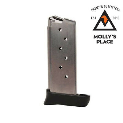 Sig Sauer MAG-938-9-7, P 938 Magazine 9mm Stainless Extended 7 Rounds