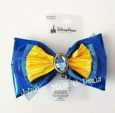 NWT Disney Parks Dory Blue Yellow Interchangeable Bow Ears