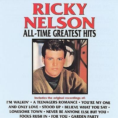 Nelson, Ricky - All-Time Greatest Hits - Cd - New