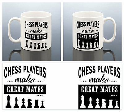CHESS PLAYER MUG Birthday Gift Chess Game Cup Chess Club Gift Friend Him Her Men