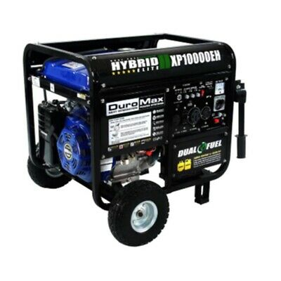 DuroMax XP10000EH 18V 10000-Watt Electric Start Dual Fuel Hybrid Portable...