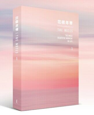 KPOP BTS Official the Notes 1 the most Beautiful Moment in Life 花樣年華 English ver