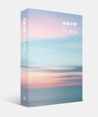 KPOP BTS Official the Notes 1  the most Beautiful Moment in Life 花樣年華 Korea ver