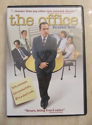The Office-Season 1-Dvd-Steven Carell-Rainn Wilson-John Krasinski-Oscar Nunez
