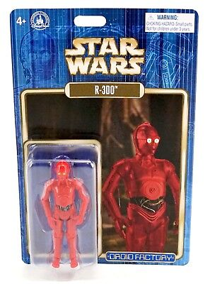 "New Disney Parks 2017 Star Wars Celebration Droid Factory R-3DO 3.75"" Figure"