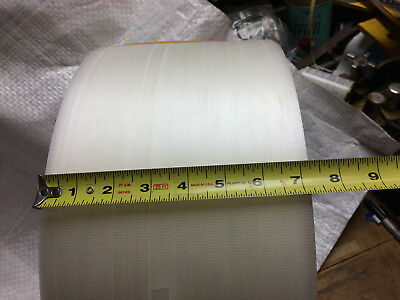 "Polypropylene Strapping Clear 1/2"" 350LB, core size 9x8 9900 Florida-Gulf Pkg."
