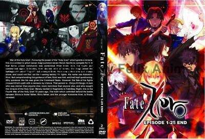 Fate Zero - Complete Tv Series 1-25 Eps Box Set (Eng Dub)