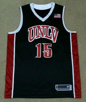 NCAA UNLV Runnin Rebels Basketball Jersey Men Sz 44 Stitched Replica Rare Large