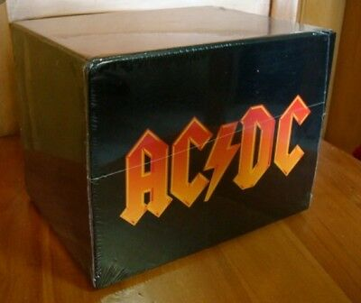 AC/DC 17 cd THE COMPLETE COLLECTION FULL BOX SET New sealed. Nuevo precintado