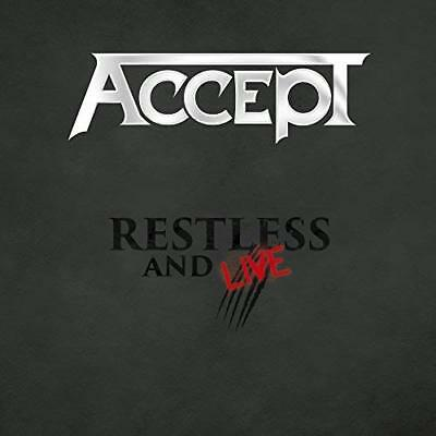 ACCEPT Restless and Live (2017) Limited Edition 2xCD + DVD box set NEW/SEALED