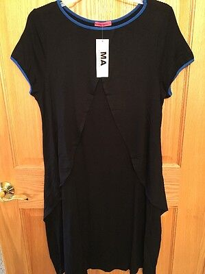 7223a5a0bff Black Maternity Dress Maternal America Maternity Nursing Dress Size XL NEW!