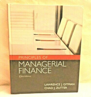 principles of managerial finance 13th edition