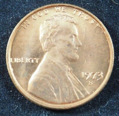 1973 S Lincoln Memorial Cent Penny (BU) Brilliant Uncirculated US Coin