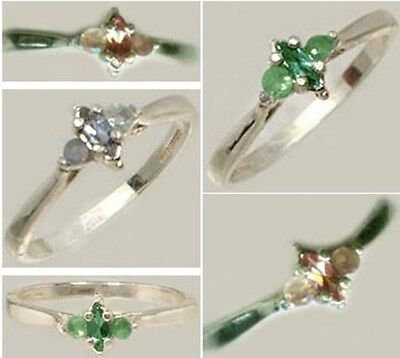 19thC Antiguo Handcrafted Genuino Natural Ruso Color-Change Alexandrite .925