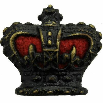VICTORIAN Officers Insignia Queen Victoria Crown Pip Rank of Major - PX31