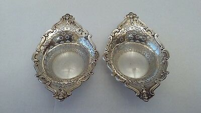 Antique Sterling Silver Bon Bon Dish