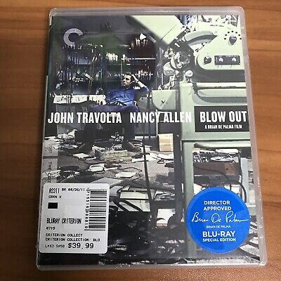 Blow Out (Blu-ray Disc, Criterion Collection)