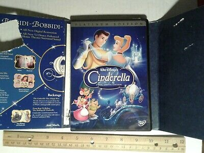 Cinderella (DVD, 2005, 2-Disc Set, Special Edition DVD Platinum Collection)