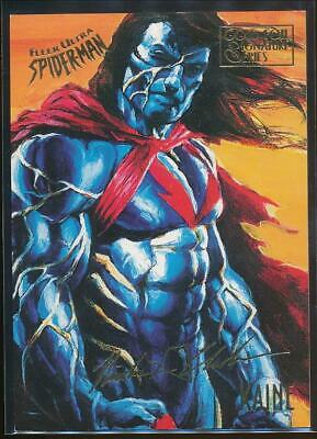 1995 Spider-Man Premiere Gold Signature Trading Card #32 Kaine