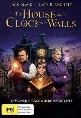 The House With a Clock in its Walls  - DVD - R4 New & Sealed 2018
