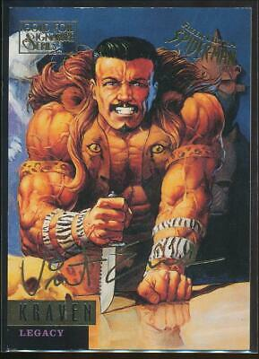 1995 Spider-Man Premiere Gold Signature Trading Card #64 Kraven