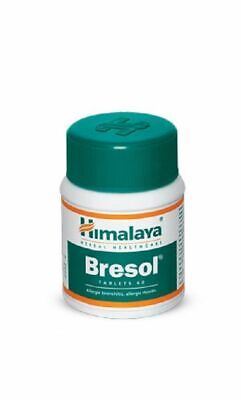 Herbal Bresol Helps Allergic Bronchitis Stuffy Nose Asthma Breathing 60 Tablets