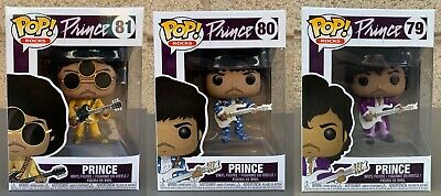 Funko POP! Rocks: Prince Variants