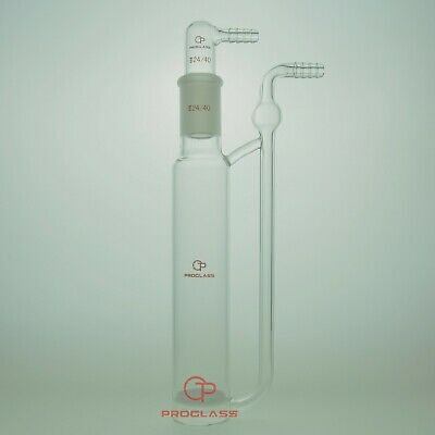 Proglass Bottle, Gas Washing, Fritted Disc Capacity 125mL,24/40 Joint